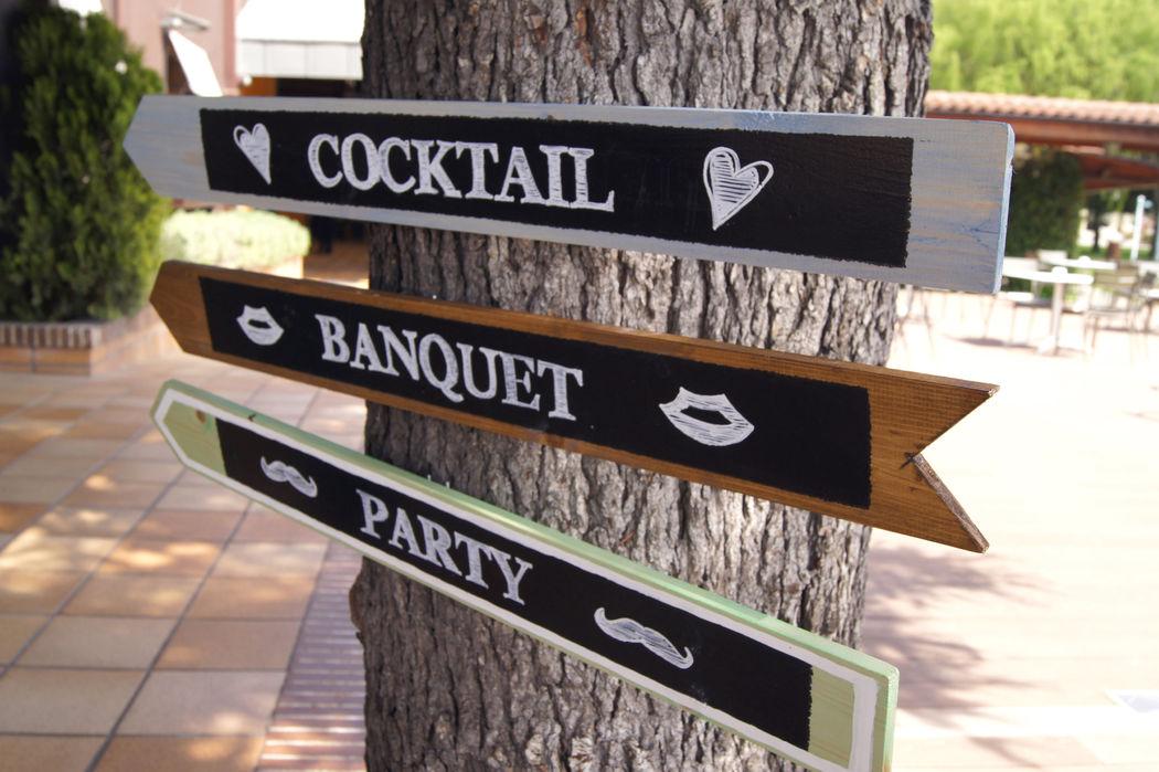 Detalle entrada, Restaurante Hotel Don Carlos, Bodas Pamplona (Navarra)
