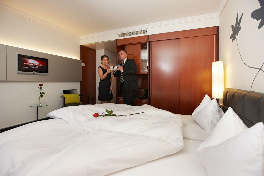 Beispiel: Romantische Zweisamkeit, Foto: Hotel Basel.
