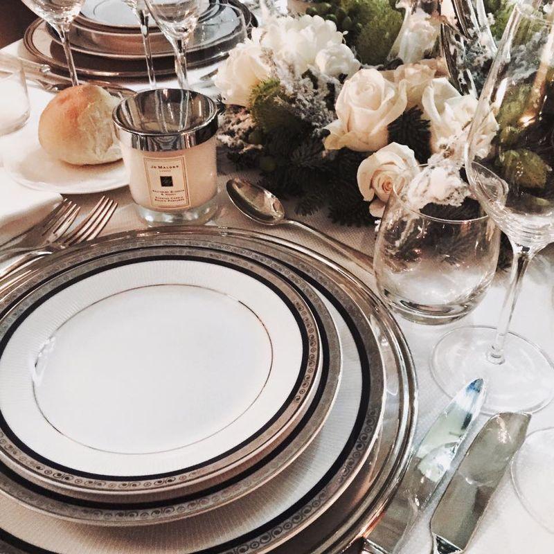 Anna Frascisco Event Planner  La tavola di Natale per Jo Malone London
