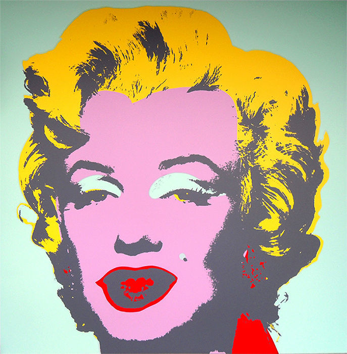 Andy Warhol - Marilyn IX