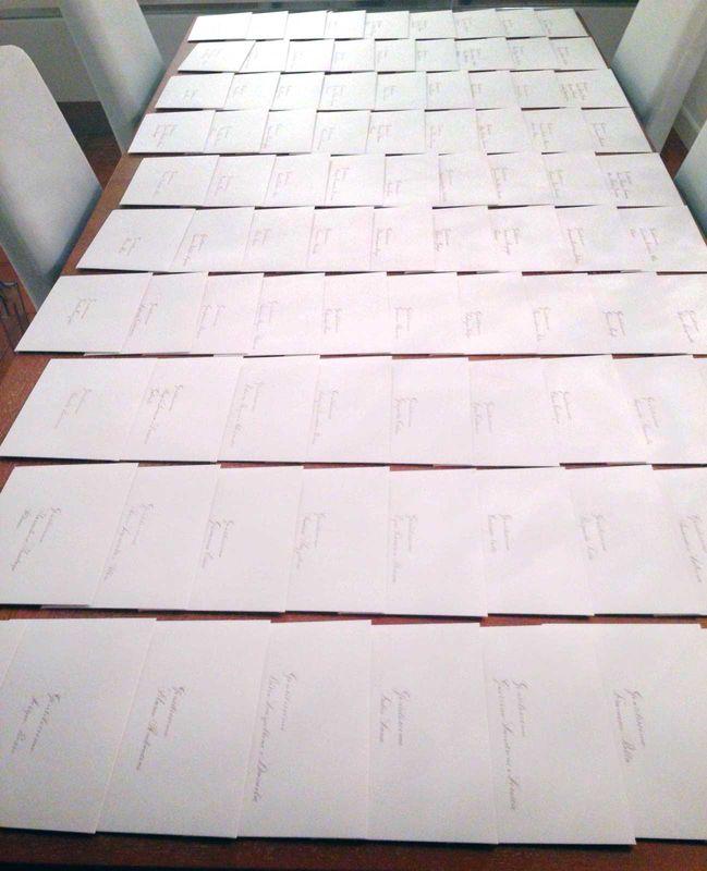 100 Nomi scritti a mano