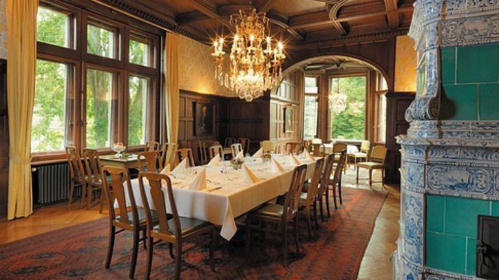Beispiel: Esszimmel, Foto: Villa Boveri.