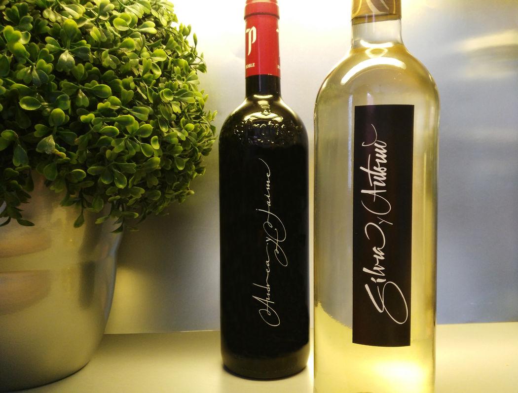 Diseño de etiquetas de vino 2