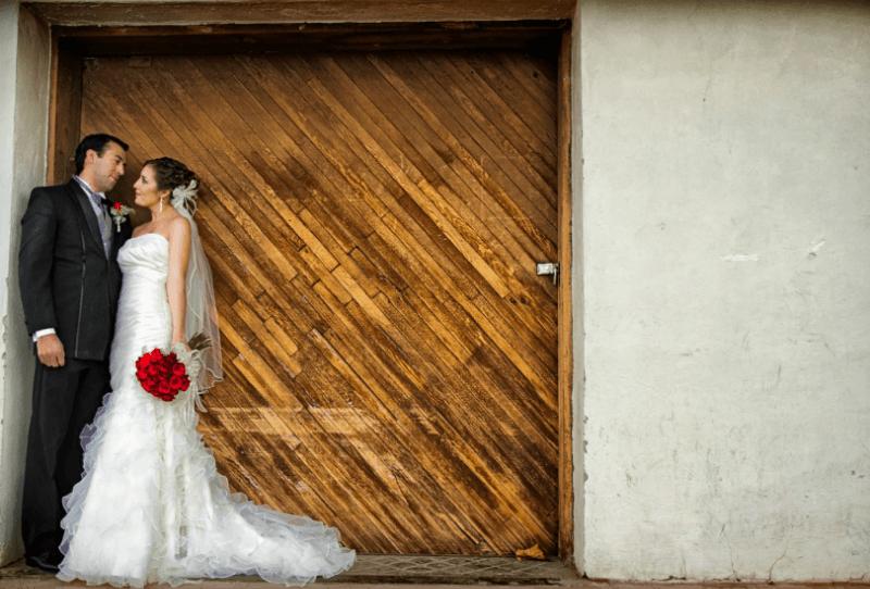 Sesión de fotografía de boda. Foto Alex Mendoza