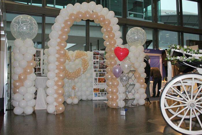 Beispiel: Dekoration mit Luftballons, Foto: Airmotion - Ihr Ballonshop.