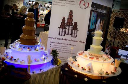 Czekoladowe Doznania fontanna czekoladowa na wesele