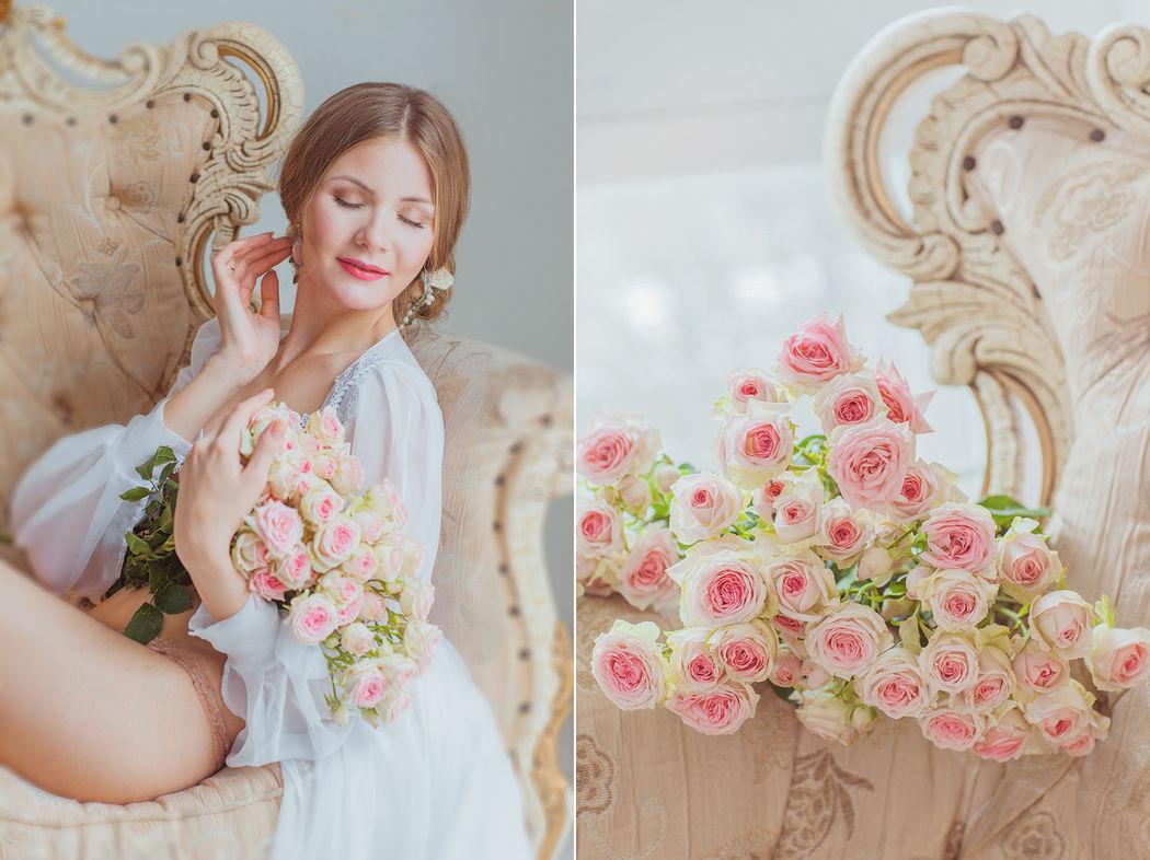 Нежное утро невесты Лизы + детали.