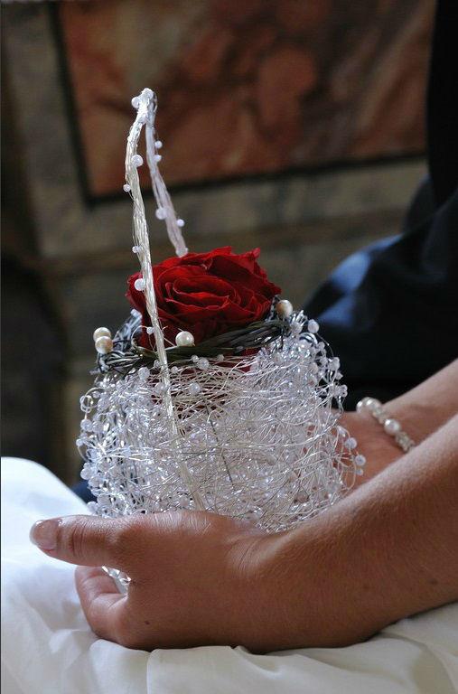 Beispiel: Brautstrauß mal anders, Foto: Festdeko.