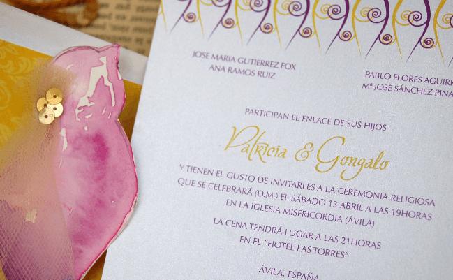 Invitación Punta