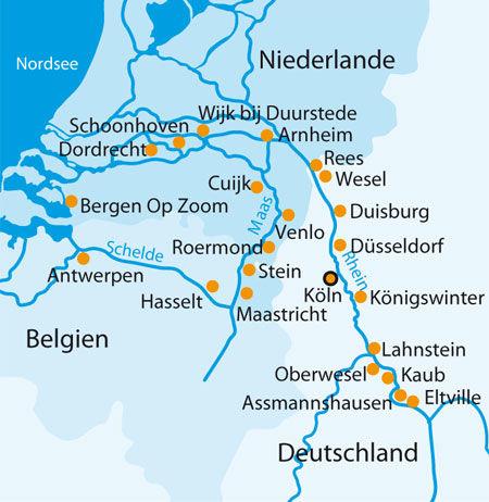 Beispiel: Flusskreuzfahrt Holland, Foto: 1A Vista Reisen.