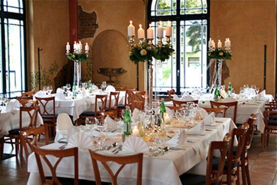 Beispiel: Bankett, Foto: Casa Italiana Da Alberto.