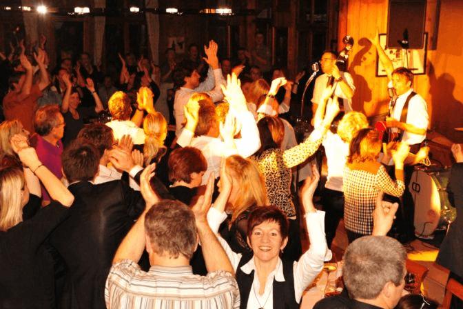 Beispiel: Feiern, Foto: Hotel Hirschen Schwarzenberg.