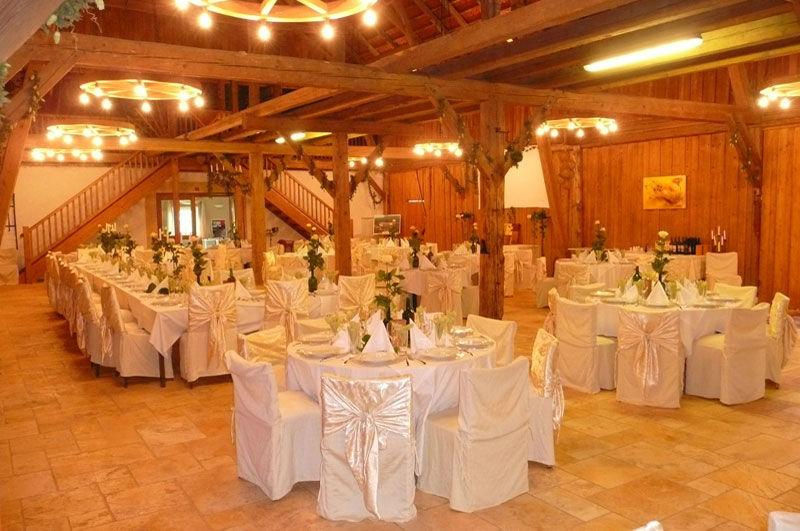 Beispiel: Dekorierter Festsaal, Foto: Stadlerhof Wilhering.