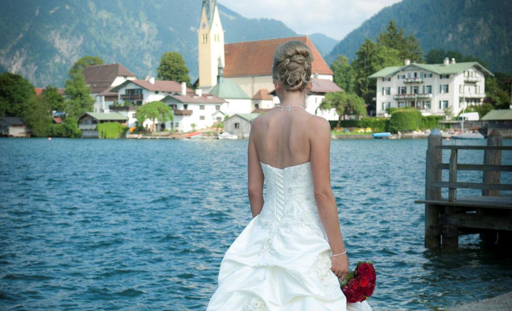 Beispiel: 5-Sterne-Hochzeit am Tegernsee, Foto: Althoff Seehotel Überfahrt.