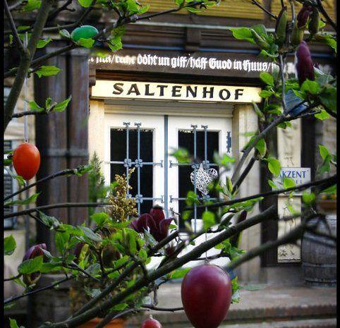 Beispiel: Eingang, Foto: AKZENT Hotel Saltenhof.