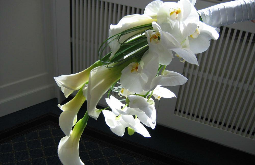 Beispiel: Blumendekoration, Foto: Blumen Schmidt.