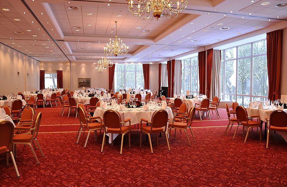 Beispiel: Bankettsaal, Foto: Hotel Munte.