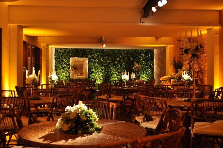 Espaço Festivo Mesas de Jantar Salão Inferior