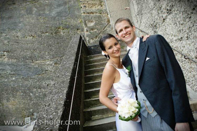 Beispiel: Wunderschöne Hochzeitsfotografie, Foto: Chris Hofer Fotografie.