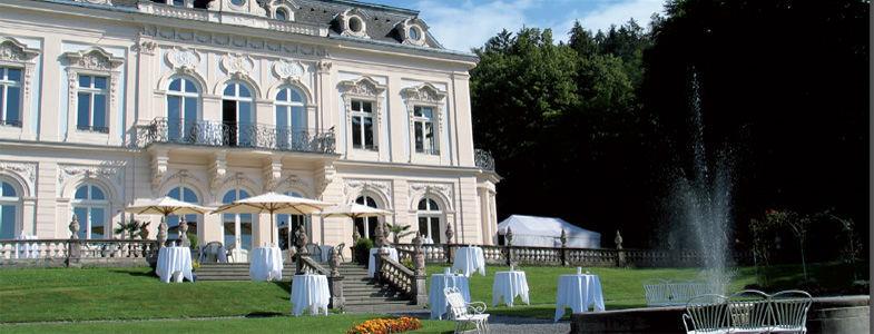 Beispiel: Empfangen Sie Ihre Gäste im Park, Foto: Villa Raczynski.
