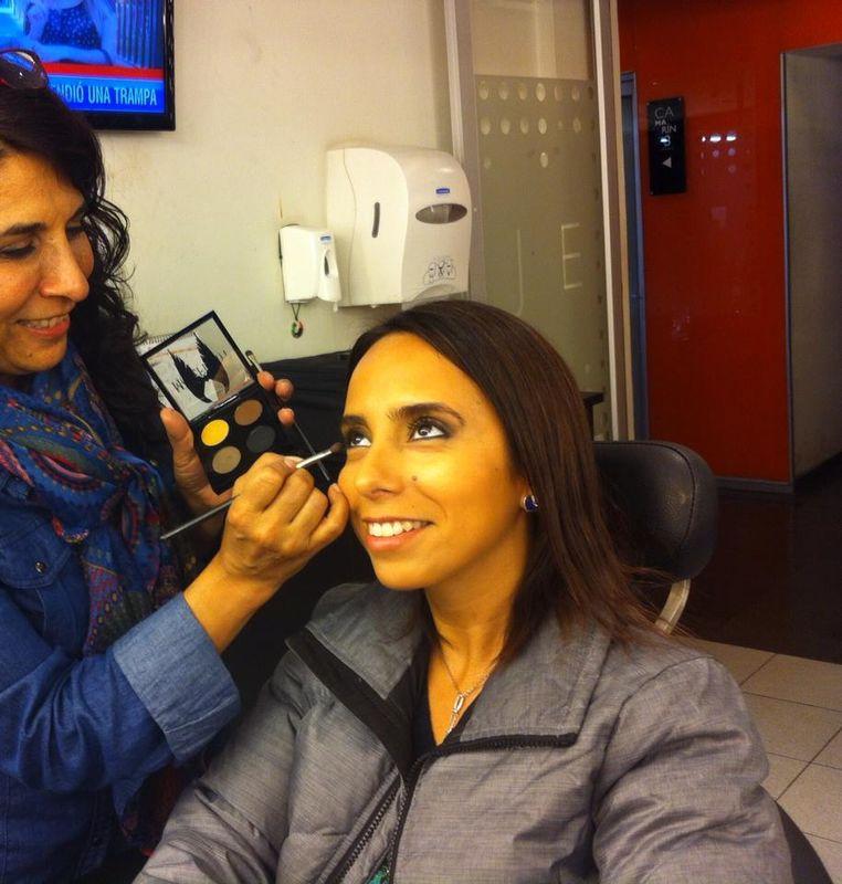Elizabeth García Abugarade Maquilladora