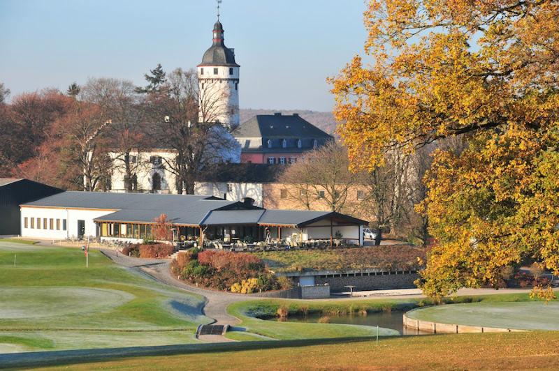Beispiel: Blick auf die Golfanlage, Foto: Golf Club Burg Zievel.