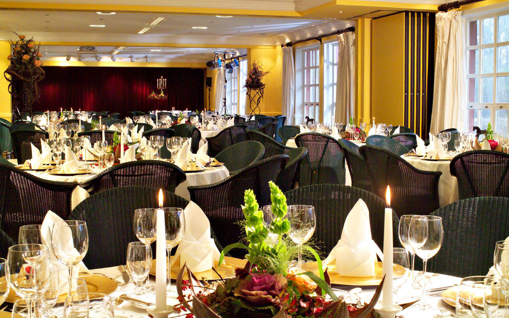 Beispiel: Festsaal, Foto: Hotel Zur Bleiche.