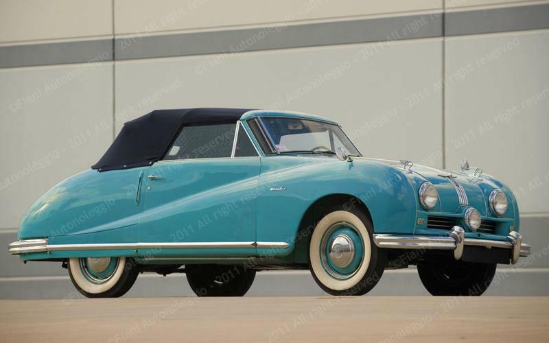 Fiani Autonoleggio: Austin A90 Cabriolet - 1950