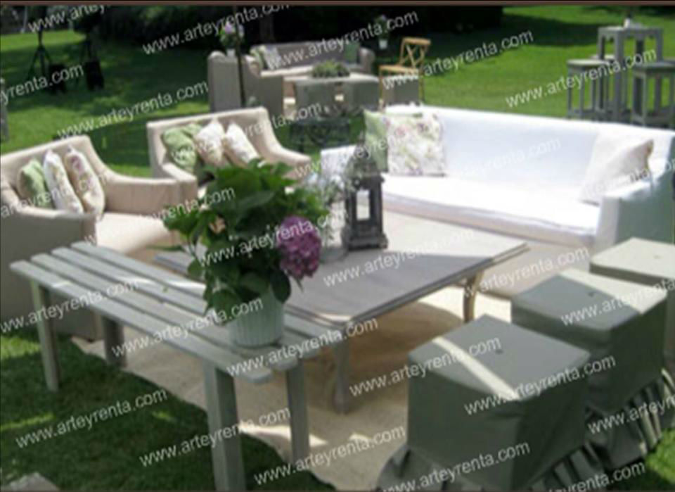 Arte y Renta, mobiliario para bodas en Cuernavaca