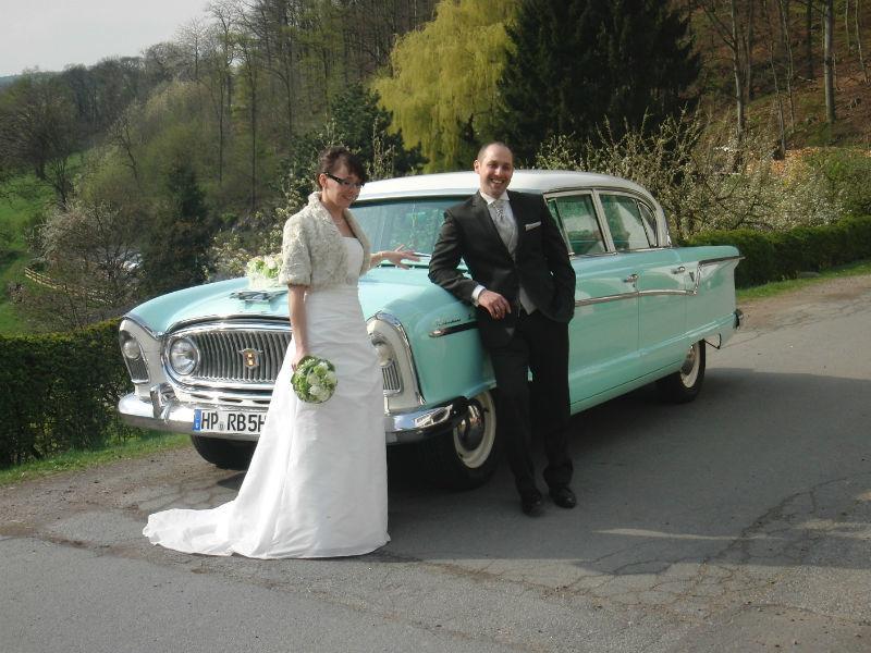 Beispiel: Das Auto zu Ihrer Hochzeit, Foto: Oldtimer Bergstraße.