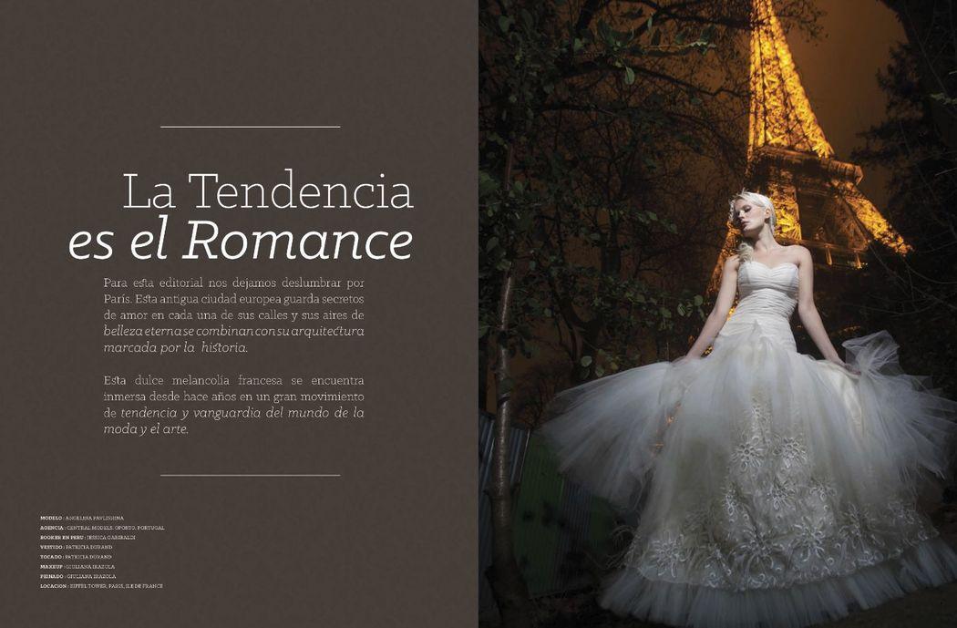 #covergirl Angelina Pavlishina on Peruvian #WeddingMagazine Cásate y Punto #WeddingDress by @Patty Durand MUA : Giuliana Irazola Osthof 59 Edicion, abril 2015. photo :Luis Chiang Chang-Way