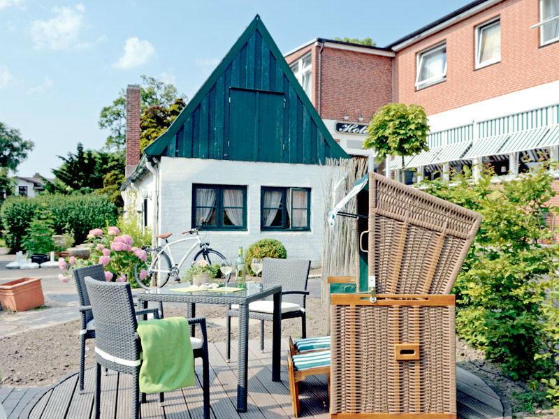 Beispiel: Terrasse, Foto: Hotel Dorn.