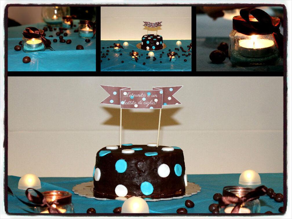 Festa in brown&turchese