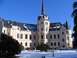 Beispiel: Schloss außen, Foto: Schlosshotel Ralswiek.