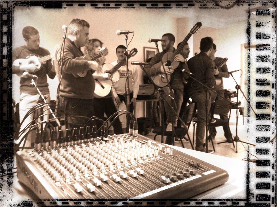 Sonorización de músicos en directo.