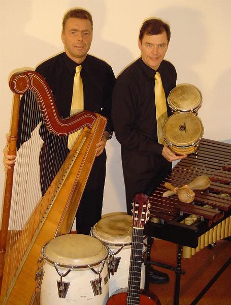 Beispiel: Band mit Instrumenten, Foto: Arpa Latina.