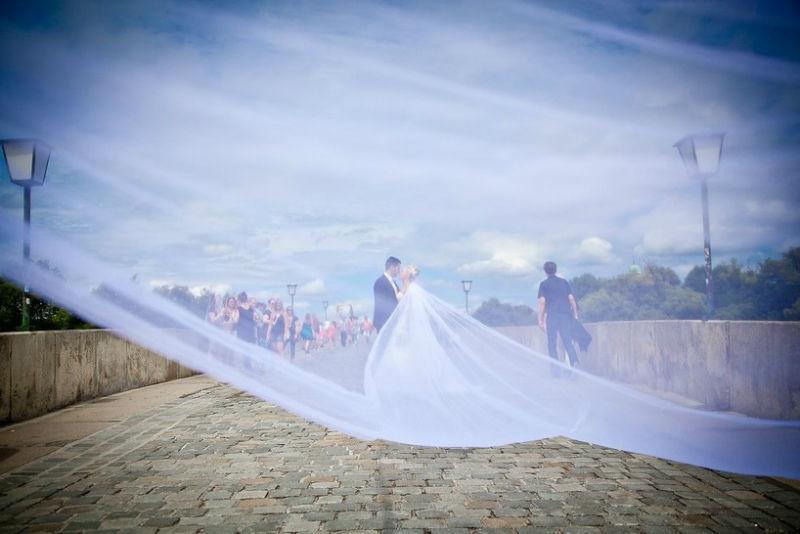 Beispiel: Kunstvolle Hochzeitsfotos, Foto: Ralf Dombrowski Wedding Photographer.