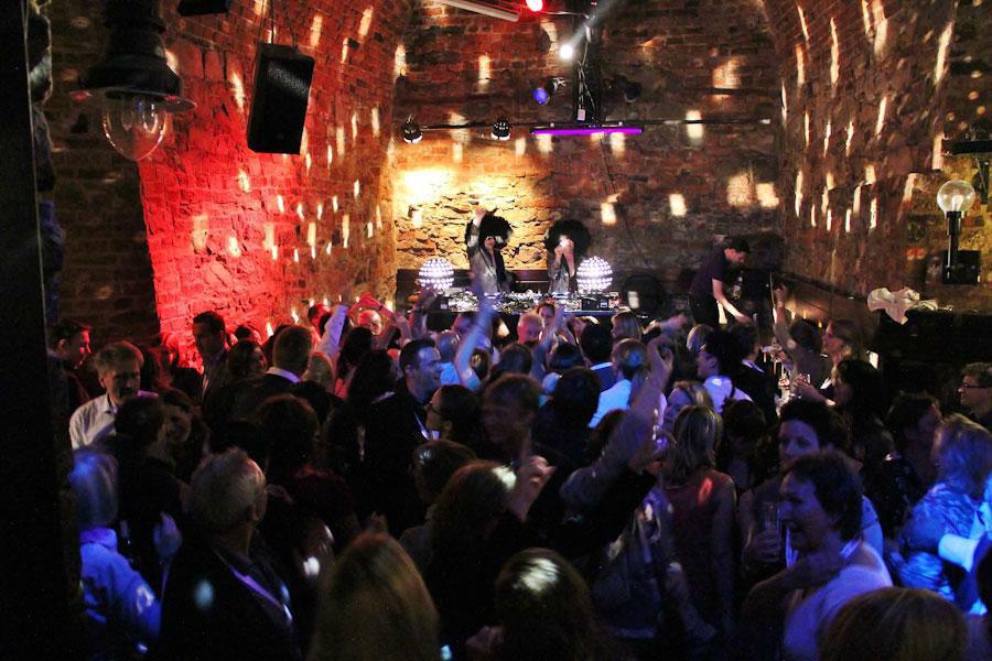 Beispiel: Disco Dice im Oberkeller, Foto: Moritzbastei.