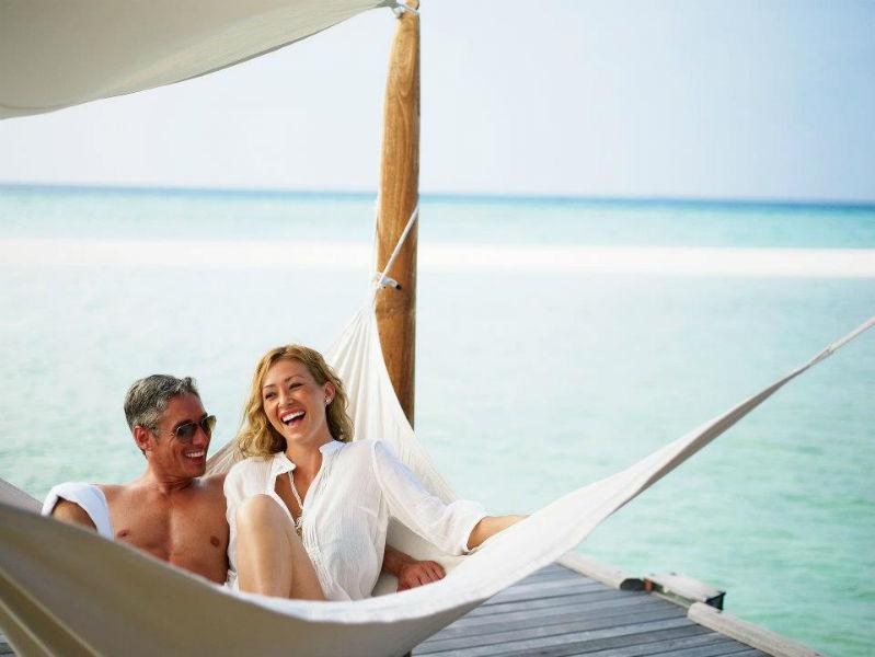 Zweisamkeit im Paradies, LUX* Maldives