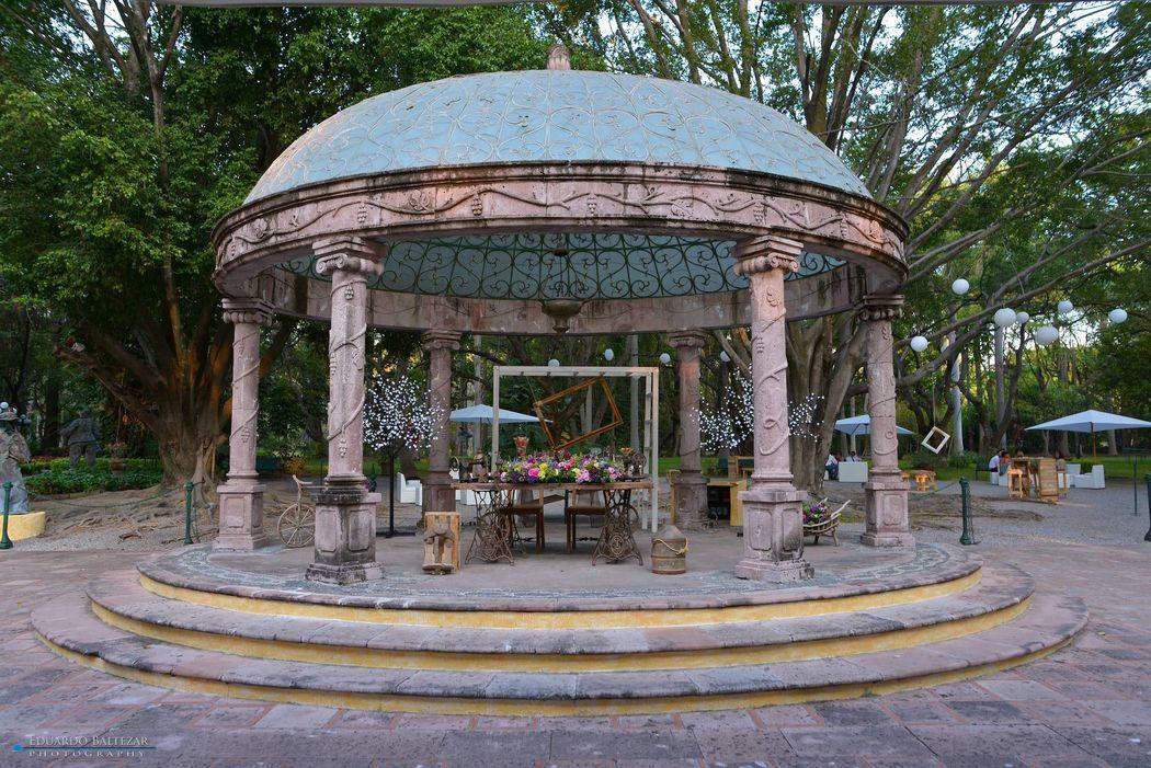 Jardin Rincón Dorado, Boda