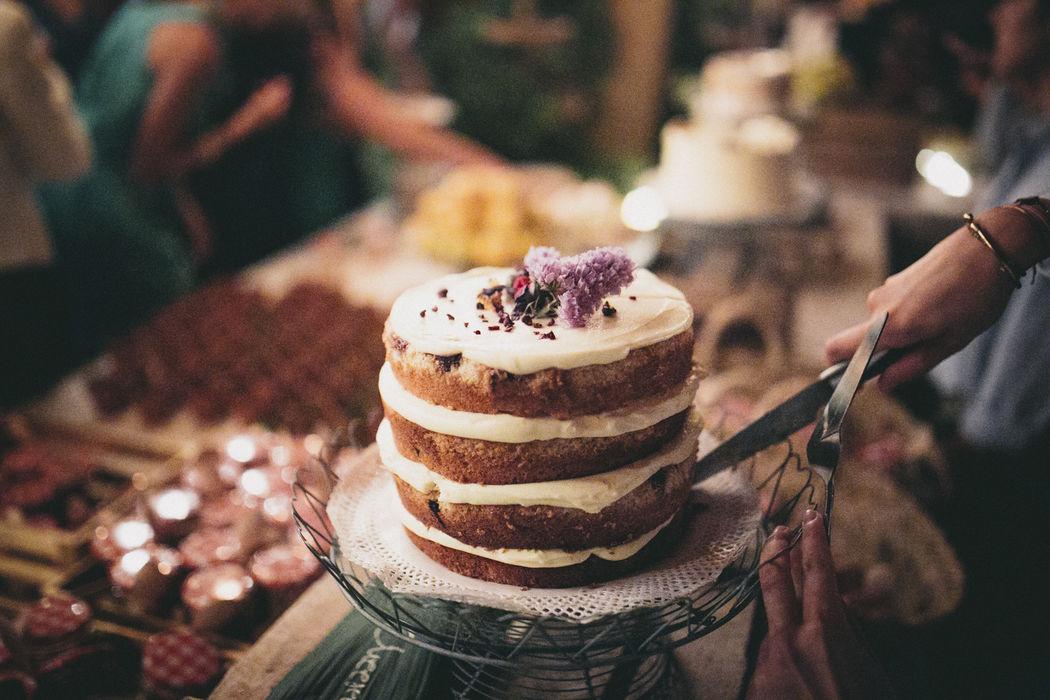 Pastel de boda - Catering Bodas 21 de Marzo