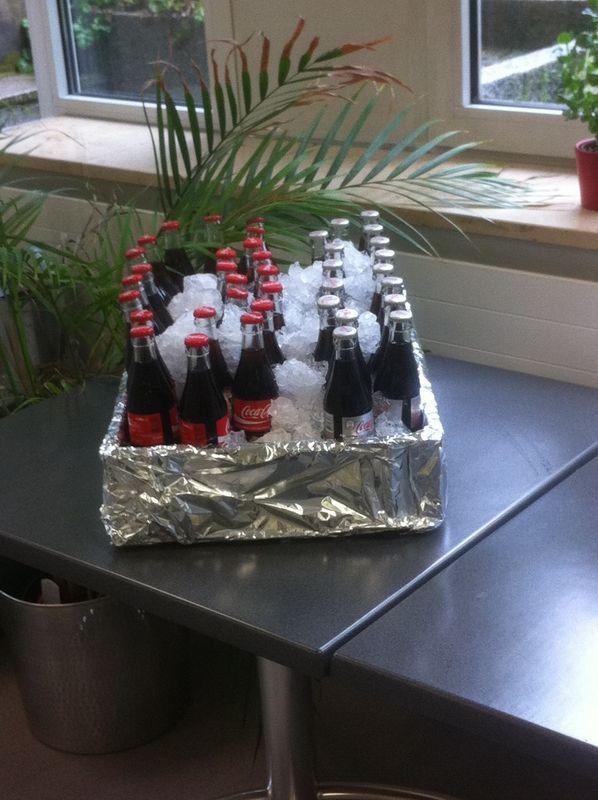 Beispiel: Getränke-Cooler, Foto: Das Häppchen schmeckt...