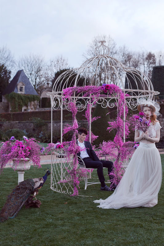 French Antique Wedding - Gloriette