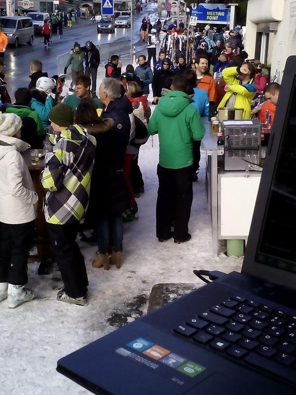 DJ Eionsatz, Après-Ski-Party, Parsenn-Hotel, Davos