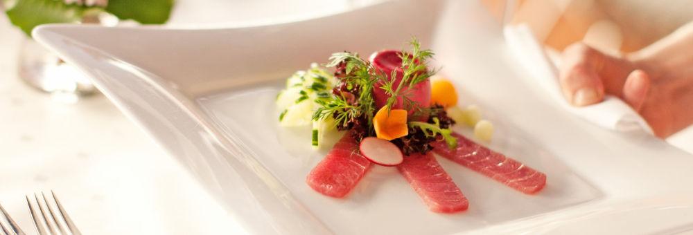 Beispiel: Vorspeise, Foto: Restaurant VA BENE.