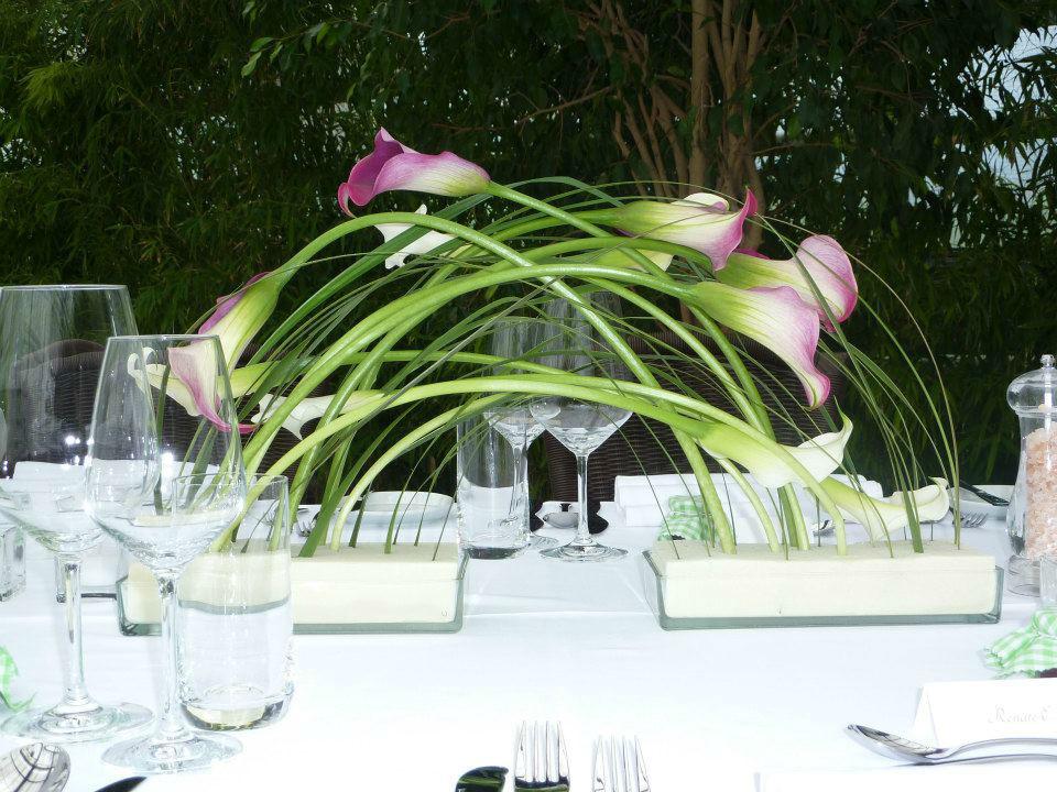Beispiel: Kreativer Blumenschmuck, Foto: Die Hochzeitsgestalter.