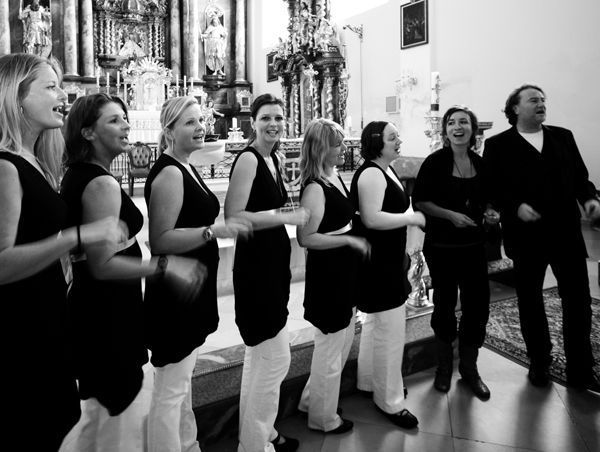 Beispiel: Live, Foto: Favorhythm Gospel Singers.