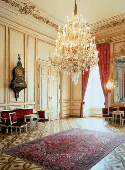 Beispiel: Uhrensalon, Foto: Palais Pallavicini.