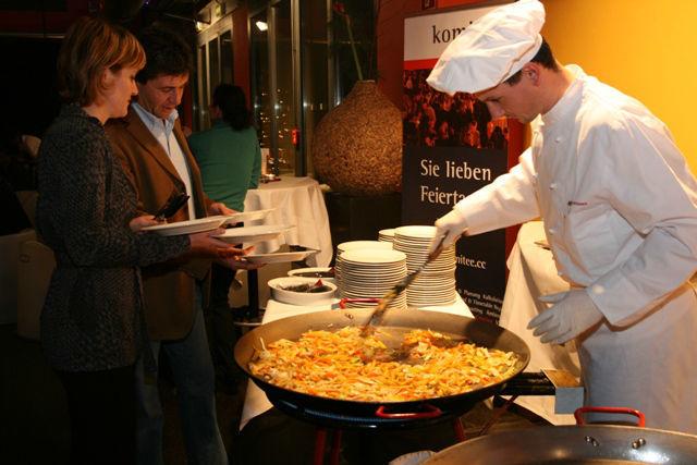 Beispiel: Show cooking, Foto: otten Gravour.