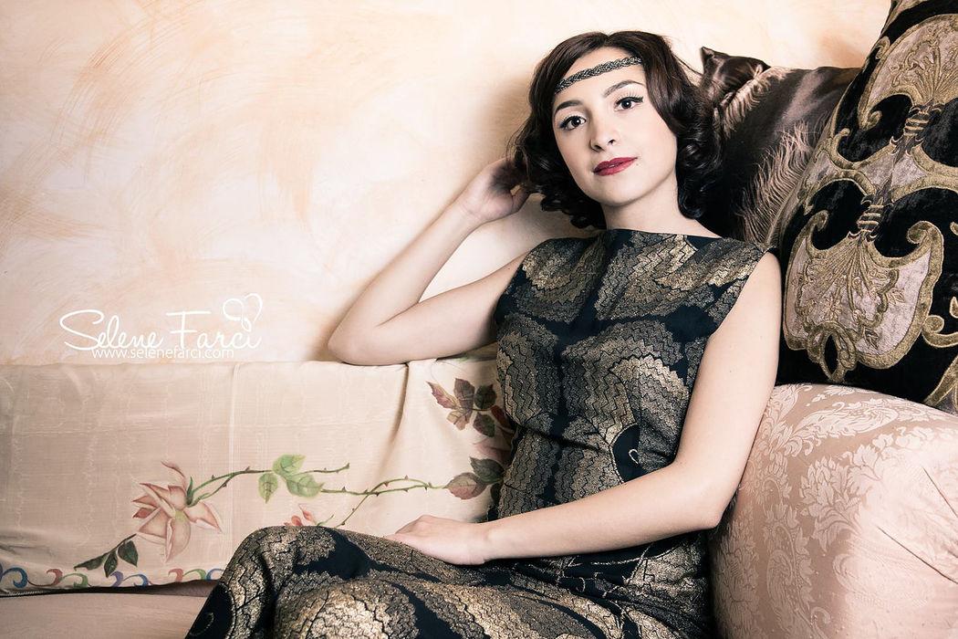 Make up Carla Aledda Trucco ispirato agli anni 50'